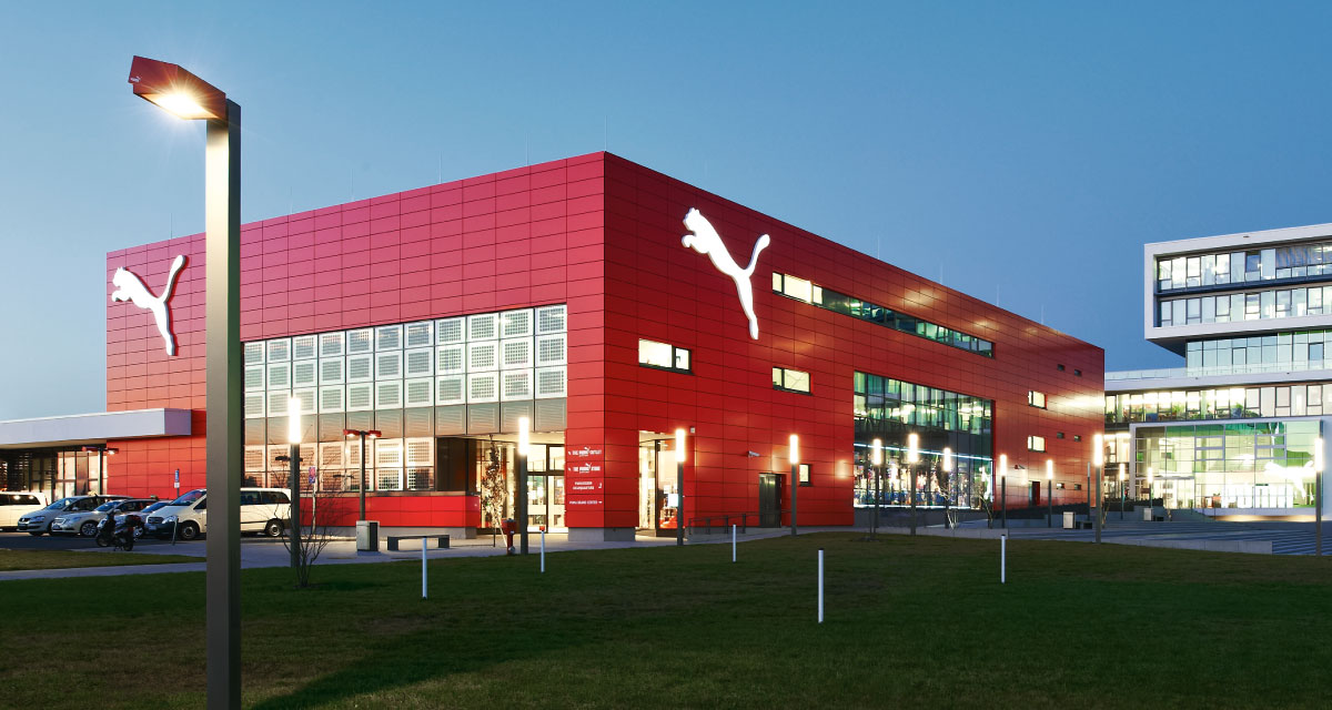 Iso-glass facade, PUMA Plaza, Herzogenaurach, Germany